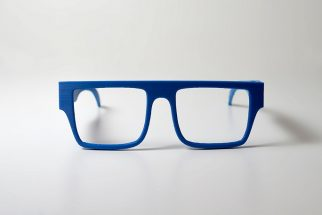 ZORTRAX 3D Printed Front Ocean Glasses