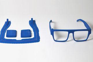 ZORTRAX 3D Printed Two Ocean Glasses