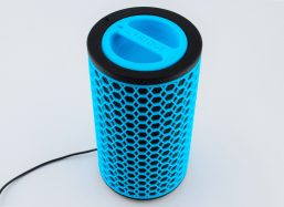 Blue 3D printed device