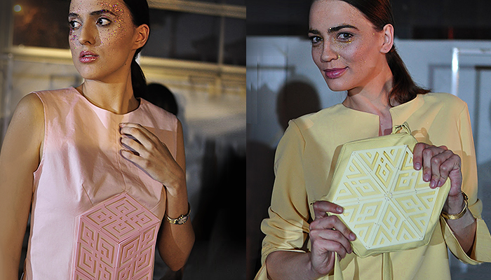 ZORTRAX Irina Tosheva 3D Printed Fashion Z-ULTRAT
