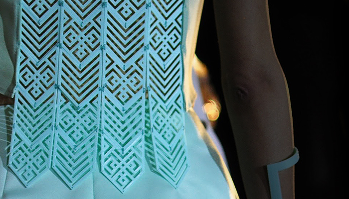 ZORTRAX Irina Tosheva 3D Printed Fashion