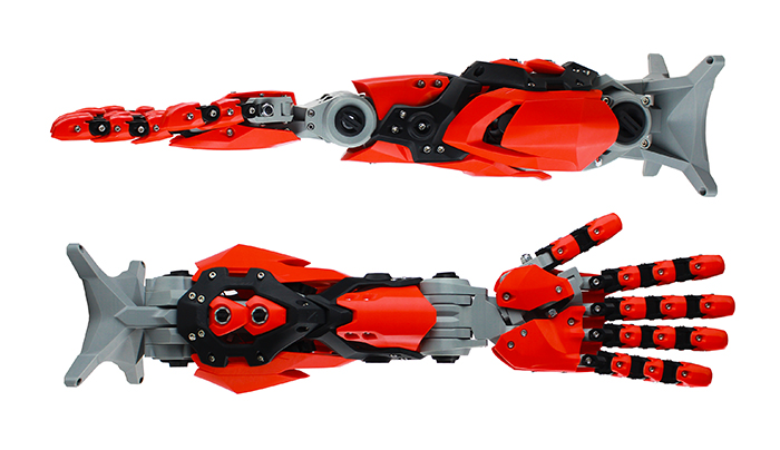ZORTRAX Library 3D Printed Robot Arm Download