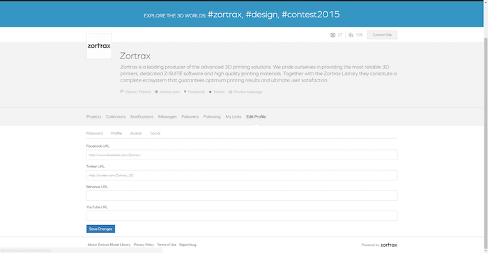ZORTRAX Library New Features