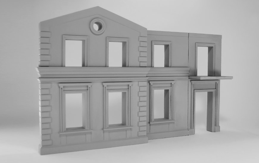 3D model of house  by Zortrax