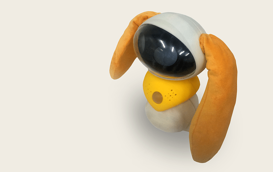 Whited 3D printed toy