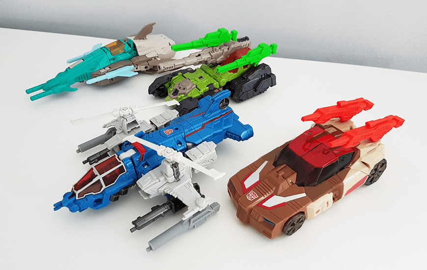 3D printed robots and cars